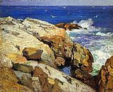 Edward Henry Potthast The Maine Coast painting