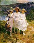 Edward Henry Potthast Walking in the Hills painting
