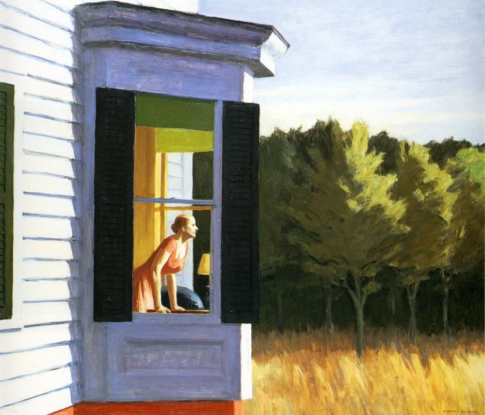 Edward Hopper Cape Cod Morning