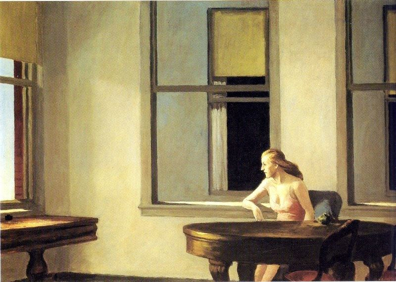Edward Hopper City Sunlight
