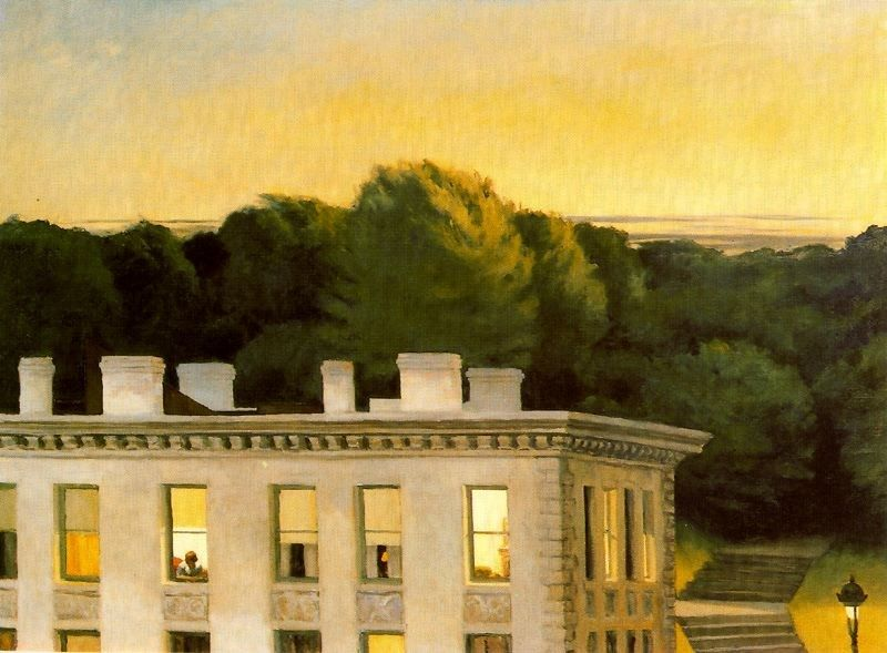 Edward Hopper House At Dusk