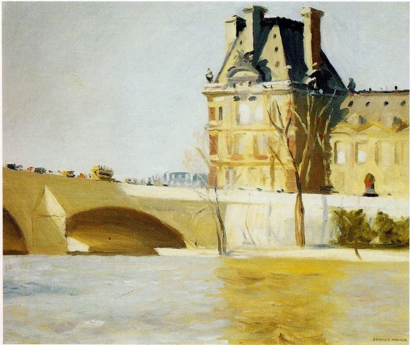 Edward Hopper Les Pont Royal