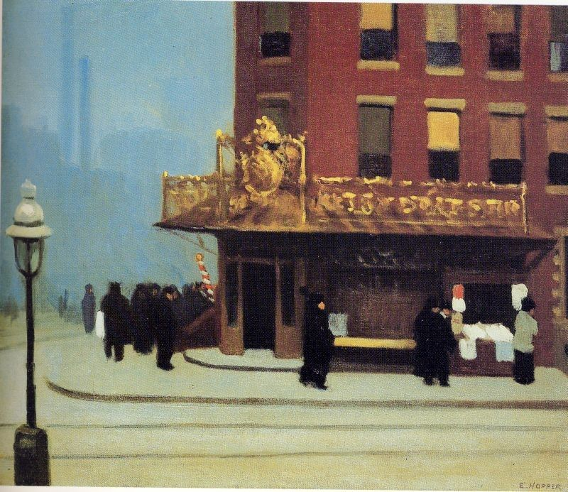 Edward Hopper New York Corne