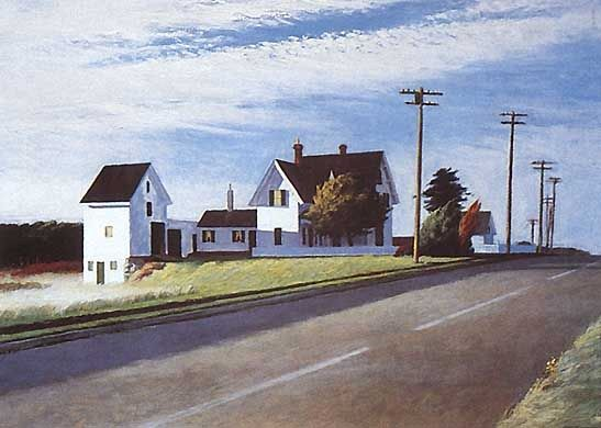 Edward Hopper Route 6 Eastham