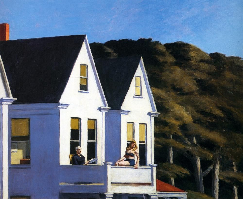 Edward Hopper Second Story Sunlight