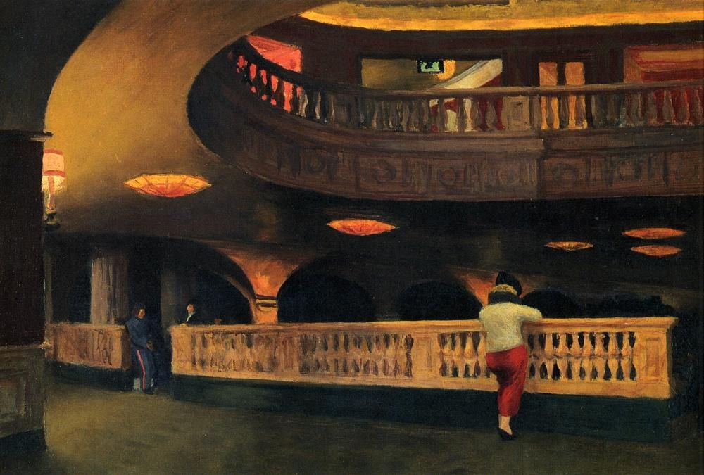 Edward Hopper Sheridan Theatre