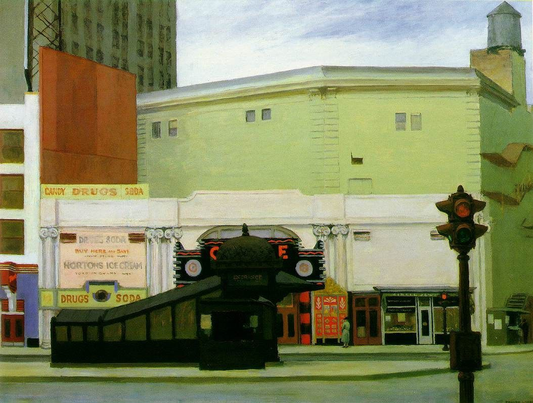 Edward Hopper The Circle Theatre