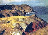 Edward Hopper Blackhead Monhegan 1919 painting