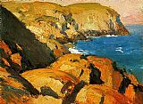 Edward Hopper Blackhead Monhegan painting