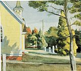 Edward Hopper Church in Eastham painting
