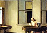 Edward Hopper City Sunlight painting