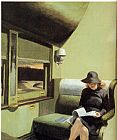 Edward Hopper Compartment C, Car 193 painting