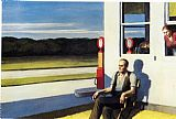 Edward Hopper Four Lane Road painting