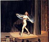 Edward Hopper Girlie Show painting