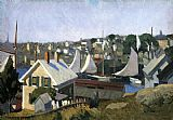Edward Hopper Gloucester Harbor painting