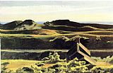 Edward Hopper Hills South Truro painting