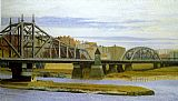 Edward Hopper Macomb's Dam Bridge painting