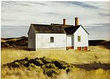Edward Hopper Ryder's House painting