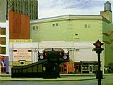Edward Hopper The Circle Theatre painting