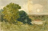 Edward Mitchell Bannister On the Seekonk painting