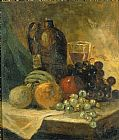Edward Mitchell Bannister Still Life painting