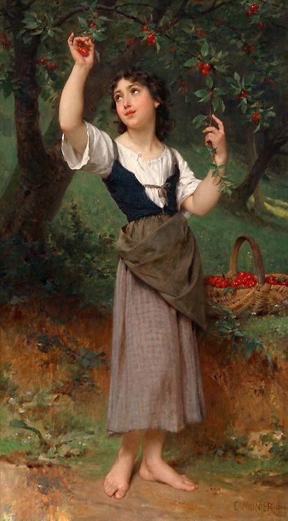 Emile Munier The Cherry Tree