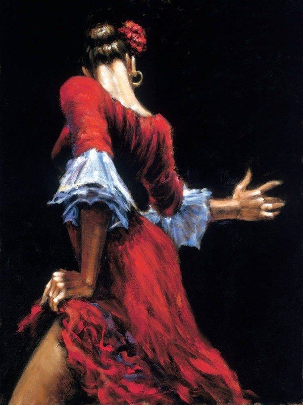 Fabian Perez Flamenco Dancer II