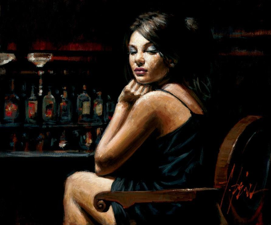 Fabian Perez Saba at the Bar II
