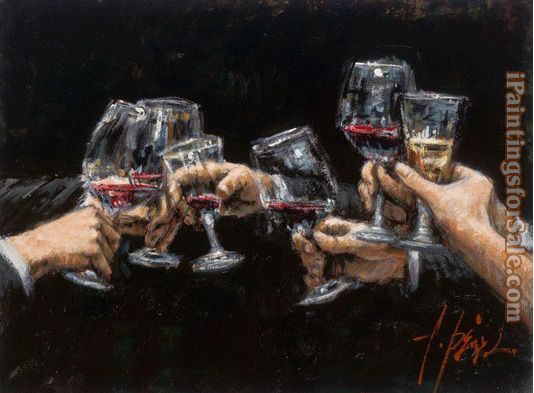 Fabian Perez Study for Celebration