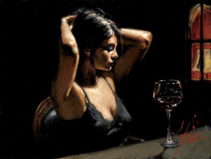 Fabian Perez The Dark Room II