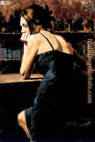Fabian Perez Wondering at Las Brujas