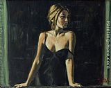 Fabian Perez BALCONY AT BUENOS ARIES V painting