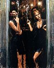 Fabian Perez SELLING PLEASURE I painting