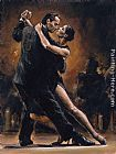 study for celebration Paintings - STUDY FOR TANGO II