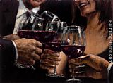 Fabian Perez Study for a Better Life v painting