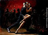 the last tango Paintings - TANGO IN RED