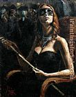 Fabian Perez The Noble Cortesana painting