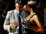 Fabian Perez The Proposal VIII painting