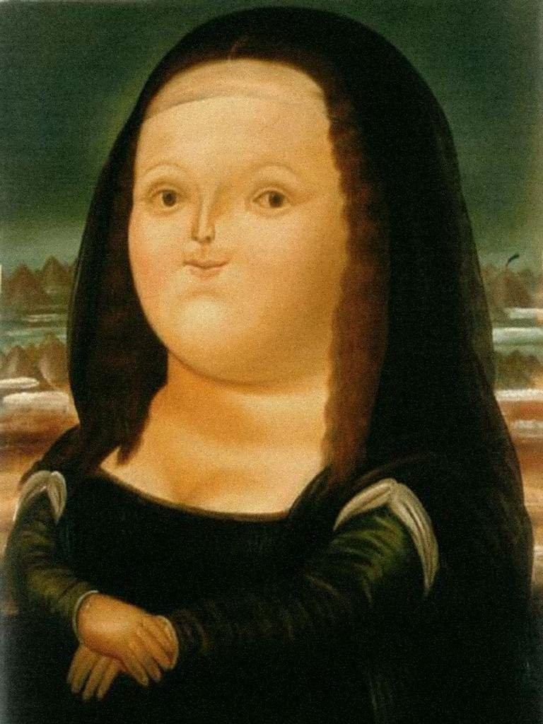 Fernando Bateroi Mona Lisa