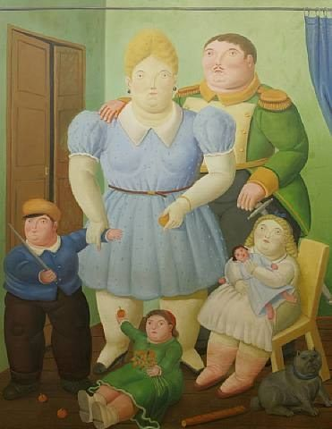 Fernando Botero The General And His Family