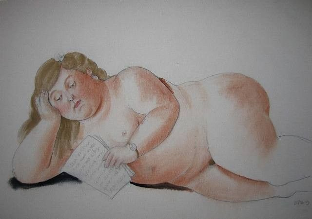 Fernando Botero The Love Letter