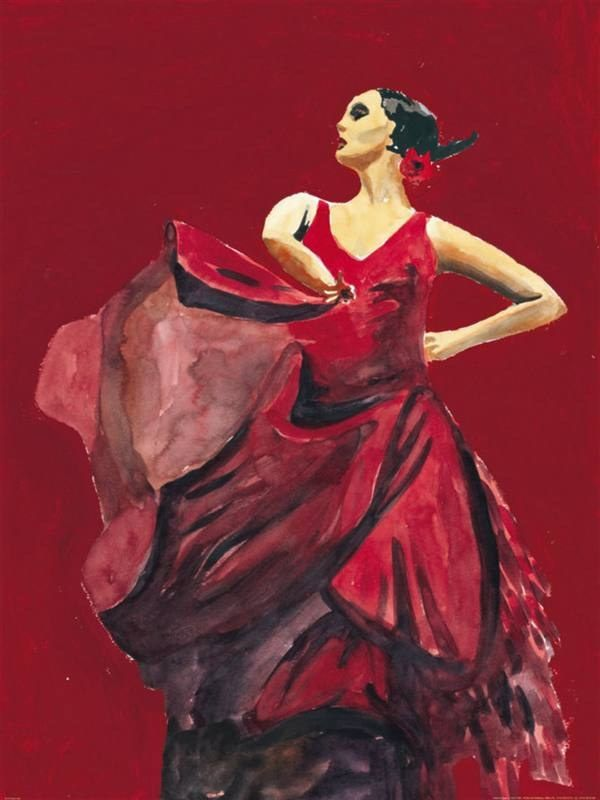 Flamenco Dancer Bailarina Orgullosa del Flamenco