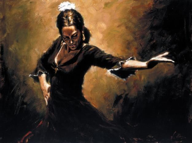 Flamenco Dancer Gitana
