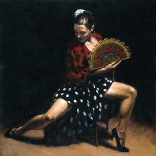 Flamenco Dancer sevillana