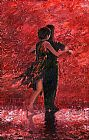Flamenco Dancer Tango Romance painting