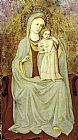 Church paintings - Madonna con Bambino by Fra Angelico