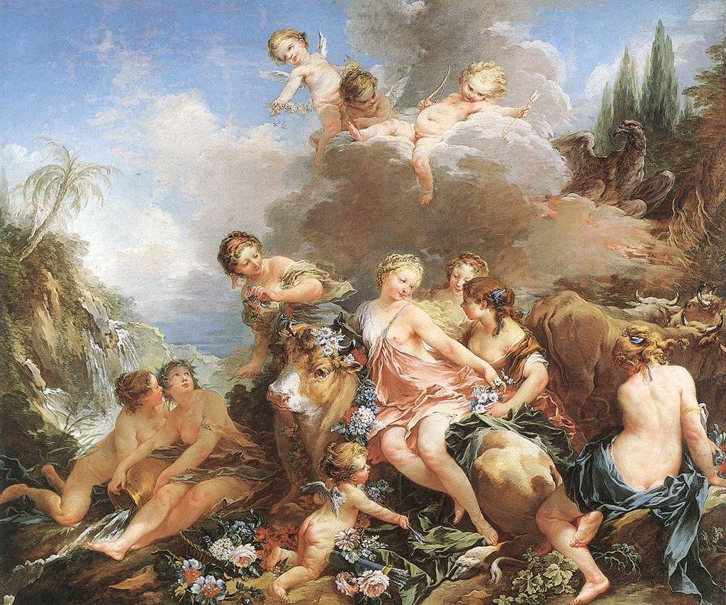 Francois Boucher The Rape of Europa