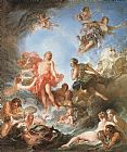 Francois Boucher The Rising of the Sun painting