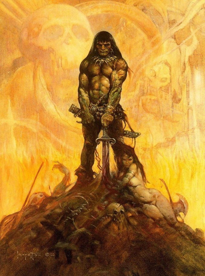 Frank Frazetta Conan the Adventurer