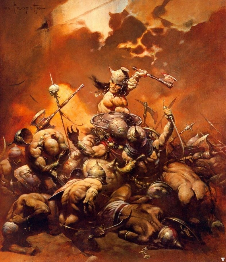 Frank Frazetta Conan the Destroyer